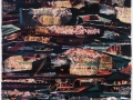 """Fantasy Land in Dyker Heights, # 1, collage and acrylic on paper, 36 x 26 """", 2012."""
